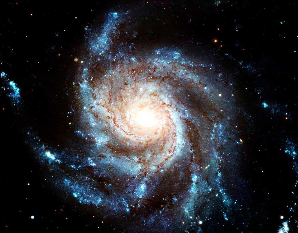 Луи Гиглио - Неописуемый Бог, галактика +Млечный путь